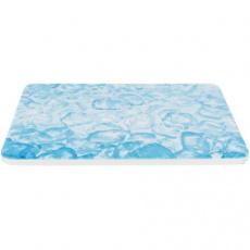 Chladící keramická podložka pro křečky, 20 x 15 cm, modrá