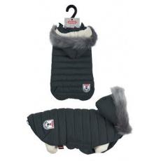 Obleček prošívaná bunda pro psy URBAN černá 25cm Zolux
