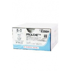 Prolene W8330 EP1 5/0 90cm,jehla 17mm,1/2 kul.TP 36ks