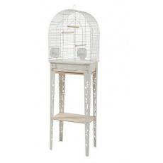 Klec ptáci CHIC PATIO M bílá Zolux