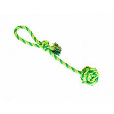 Přetahovadlo HipHop bavlněný míč, sv.zelená, tm.zelená, khaki