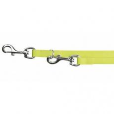 Easy Life přepínací vodítko PVC S-XL 2,00 m/17 mm neon žluté - DOPRODEJ