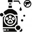 Antiparazitární spreje, šampony