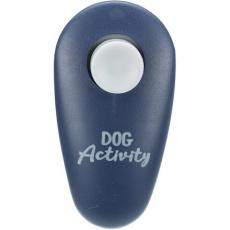 Dog Activity Finger Clicker cliker s tlačítkem