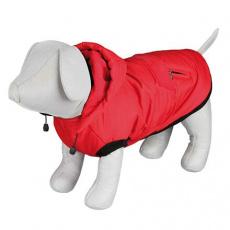Červená vesta PALERMO s odepínací kapucí  S 40 cm