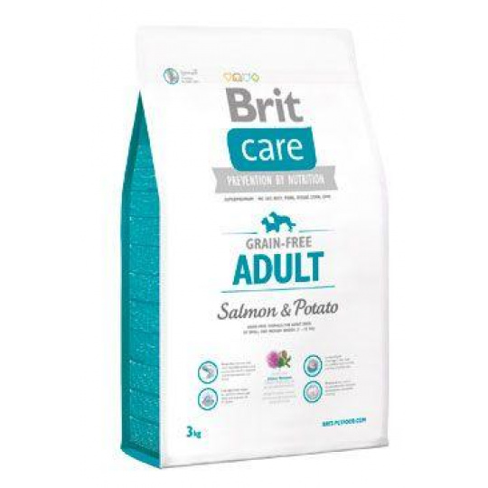 Brit Care Dog Grain-free Adult Salmon & Potato 3kg
