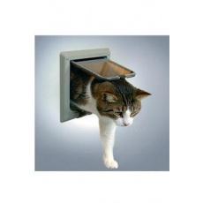 Dvířka kočka plast 4P s tunelem Šedá TR
