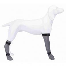 Ochranná silikonová ponožka, L: 10 cm/40 cm, šedá