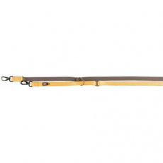 Vodítko EXPERIENCE prodlužovací L-XL 2,00 m/25 mm, žluté - DOPRODEJ