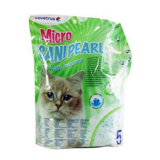 Podestýlka Sanipearls Micro 5l CVET