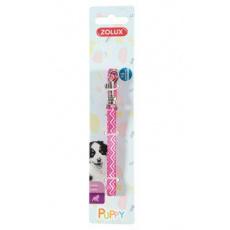 Vodítko pes štěně PIXIE růžová 8mm 1,2m Zolux