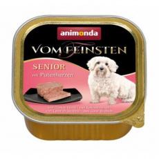 ANIMONDA paštika SENIOR - krůtí srdíčka pro starší psy 150 g