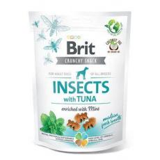 Brit Care Dog Crunchy Crack. Insec. Tuna Mint 200g