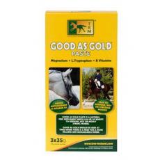 TRM pro koně GOOD AS GOLD paste 3x35g proti stresu